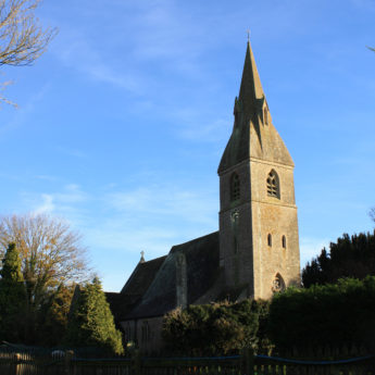 Grade 2* listed St Mary's church by William Butterfield